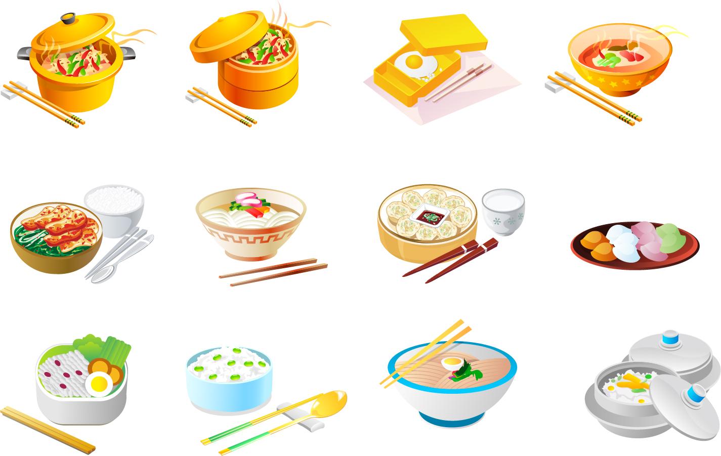 中華 料理 イラスト