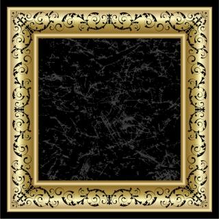 古典的な豪華フレーム Classic retro frames イラスト素材2