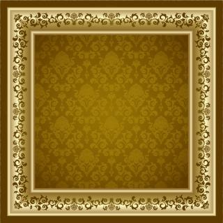 古典的な豪華フレーム Classic retro frames イラスト素材