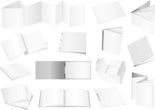 日用品の白地デザイン テンプレート practical elements of vector blank enterprise イラスト素材2