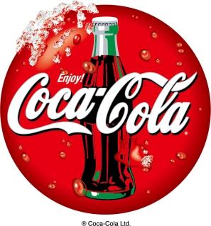 コカコーラのロゴ Vector logo Coca-Cola イラスト素材