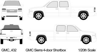 自動車の線画 Vehicle Outlines イラスト素材2