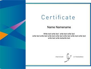 証明書デザイン テンプレート emblem signature design certificate イラスト素材3