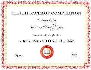 証明書デザイン テンプレート emblem signature design certificate イラスト素材2