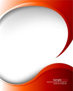 赤い曲線の背景 red delicate pattern background イラスト素材