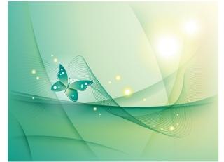 輝く蝶の背景 Abstract Backgorund with Butterfly イラスト素材