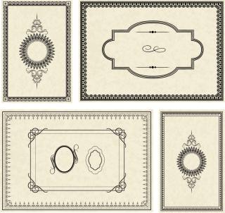 シンプルなフレーム edge texture simple frame イラスト素材