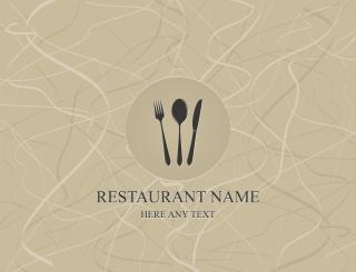 メニュー表紙デザイン見本 menu cover vector イラスト素材1