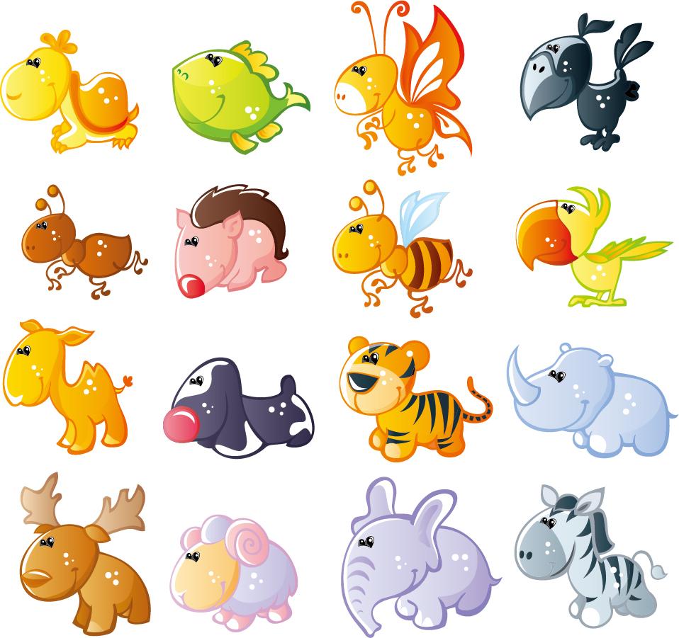 イラスト 無料 かわいい 動物 7331 イラス