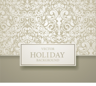 ヨーロッパ調の優雅な表紙デザイン european pattern background cover イラスト素材
