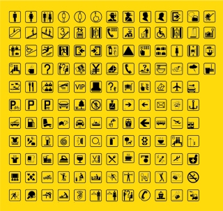 実用的なアイコン集 the icon is very useful イラスト素材