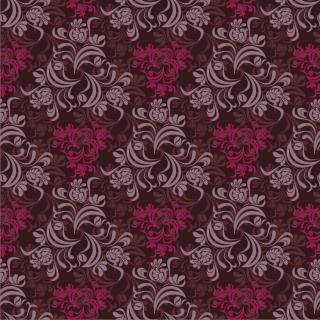 シームレスな花柄が美しい背景 Seamless Floral Background イラスト素材
