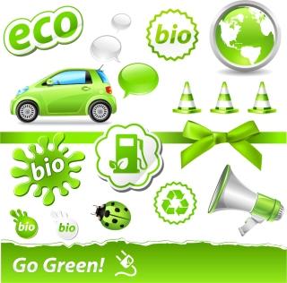 排ガス規制をイメージしたアイコン carbon green theme icon イラスト素材