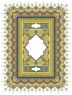 緻密な美しさのレース パターン フレーム beautiful classical pattern lace イラスト素材2