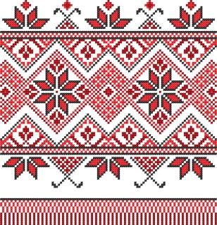 美しいクロスステッチ パターン cross stitch patterns イラスト素材
