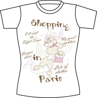 お洒落なTシャツのデザイン見本 Free Vector T-shirt Template イラスト素材