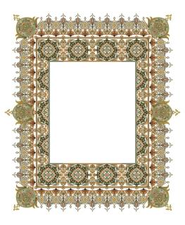 古典的なレース パターンのフレーム beautiful classical pattern lace イラスト素材7