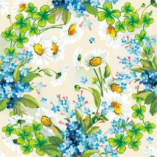 美しい青い花びらの背景 beautiful flowers background イラスト素材