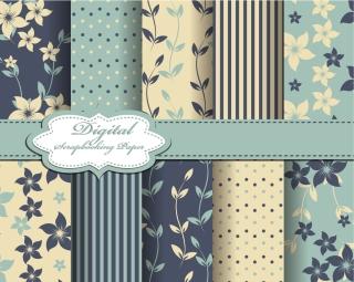 織物パターンの背景 fabrics Pattern Background イラスト素材